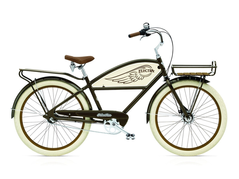 Electra Bicycle Delivery 3i men's / brown