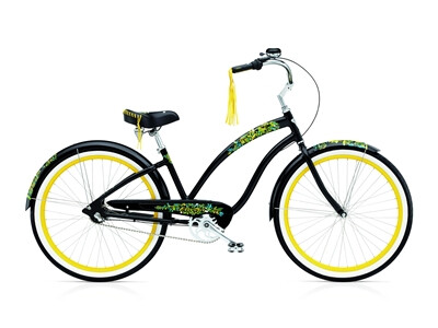 Electra Bicycle Flora & Fauna 3i black ladies