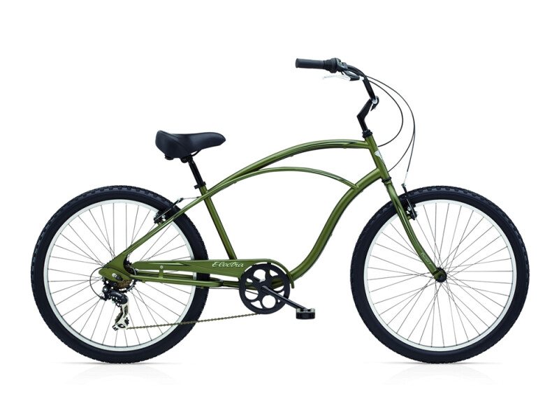 Electra Bicycle Cruiser 7D men's / matte khaki