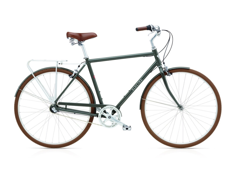 Electra Bicycle Loft 3i men's / army grey
