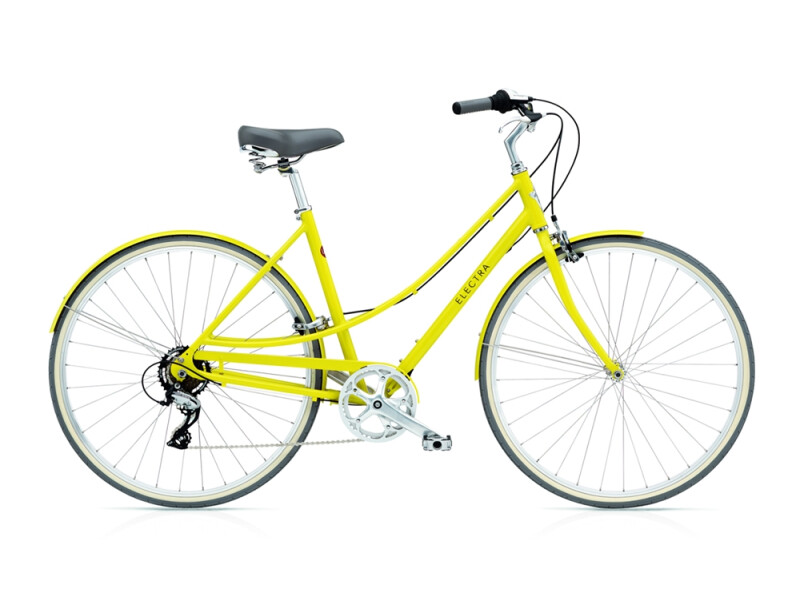 Electra Bicycle Loft 7D ladies' / citrine