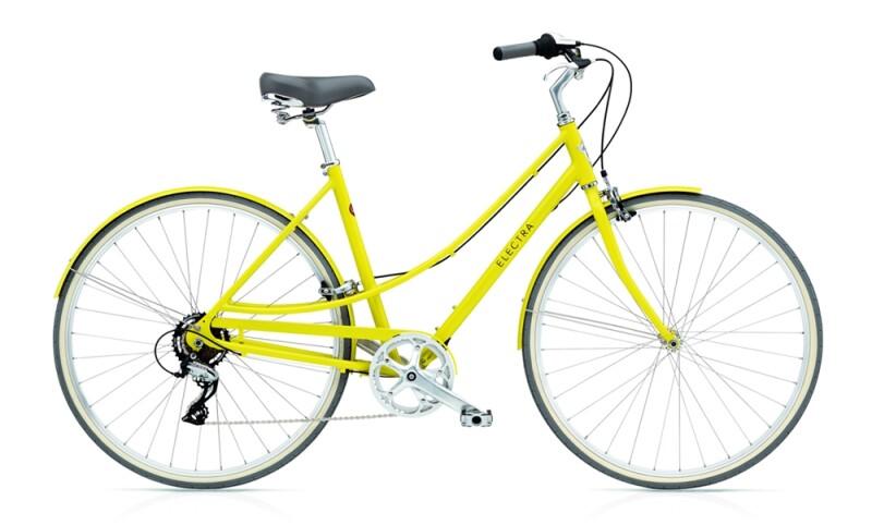 Electra Bicycle Loft 7D ladies' / citrine