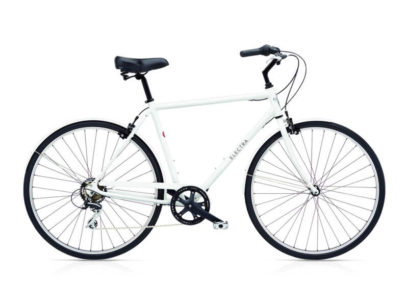 Electra Bicycle Loft 7D men's / matte white