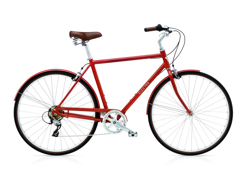 Electra Bicycle Loft 7D men's / red