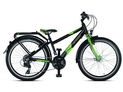 Puky - Crusader 24-21 Active light schwarz/grün Angebot