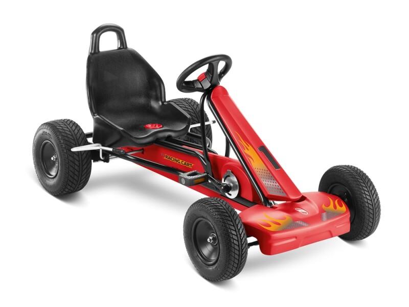 Puky F 1 L schwarz/rot