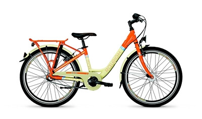 Raleigh - Schoolmax 3//Wa/Orange/Creme matt