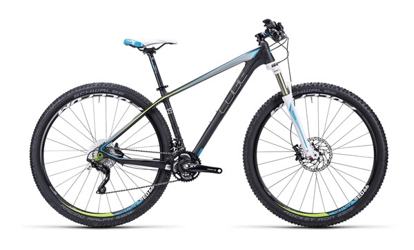 CUBE - Access WLS GTC Pro carbon´n´white´n´blue