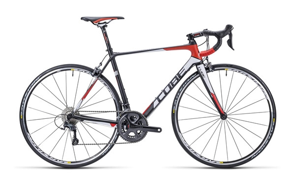 CUBE - Agree GTC Race carbon´n´white´n´red
