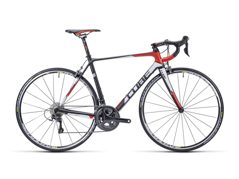 Cube Agree GTC Race carbon´n´white´n´red