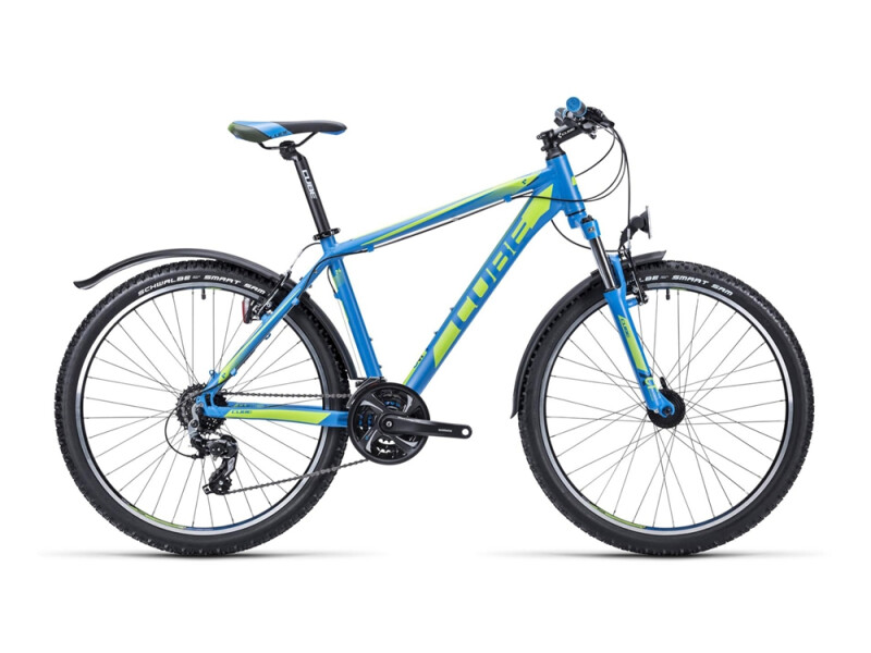 Cube Aim Allroad 26 blue´n´lime
