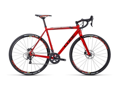 Cube Cross Race Disc Pro red´n´black