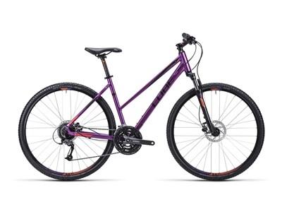 Cube Curve Pro purple black flashred / Trapeze