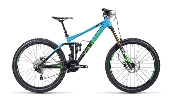 CUBE - Fritzz 180 HPA Race  blue´n´black
