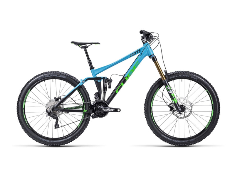 Cube Fritzz 180 HPA Race  blue´n´black