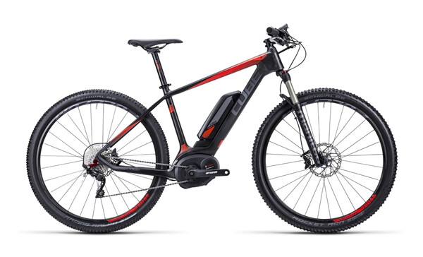 CUBE - Elite Hybrid HPC Race 29 black´n´flashred