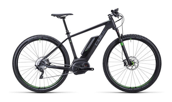 CUBE - Elite Hybrid HPC SL 29 black´n´green