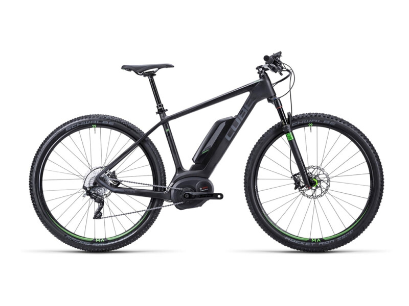 Cube Elite Hybrid HPC SL 29 black´n´green