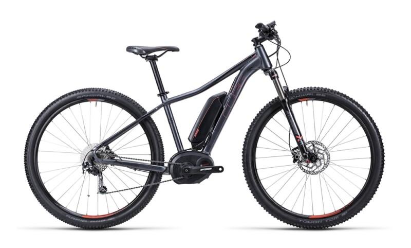 Cube Access WLS Hybrid Pro anthrazit´n´coral E-Bike
