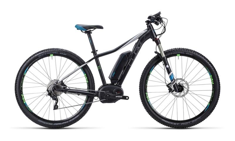 Cube Access WLS Hybrid Race black´n´petrol E-Bike