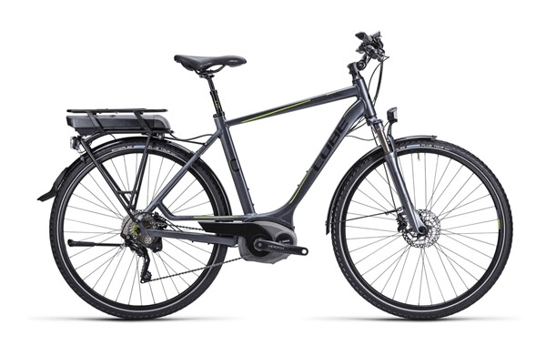 CUBE - Touring Hybrid anthrazit black green