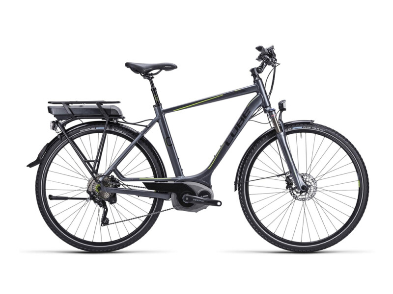 Cube Touring Hybrid anthrazit black green