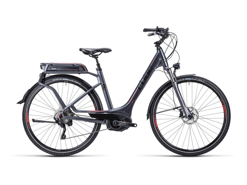 Cube Touring Hybrid Pro anthrazit blk red / Easy Entry