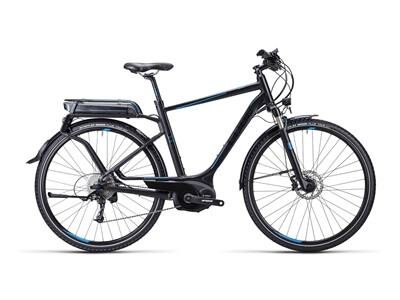 Cube Touring Hybrid Exc black blue