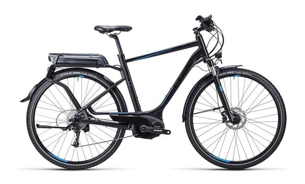 CUBE - Touring Hybrid Exc black blue