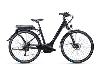 Cube Touring Hybrid Exc black blue / Easy Entry