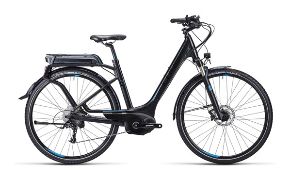 CUBE - Touring Hybrid Exc black blue / Easy Entry