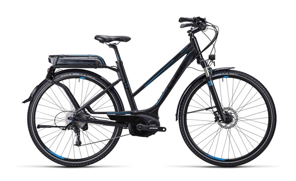 CUBE - Touring Hybrid Exc black blue / Trapeze