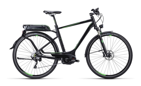 CUBE - Touring Hybrid SL black green