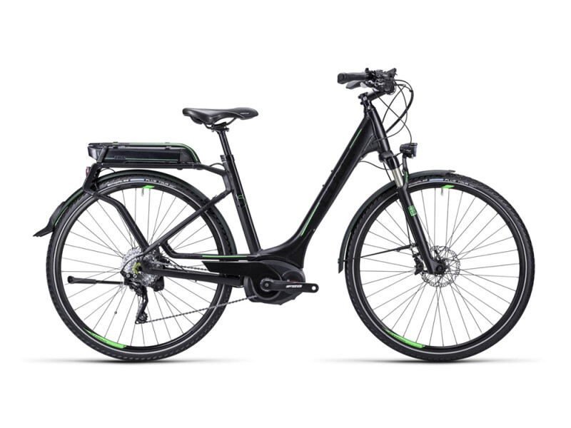 Cube Touring Hybrid SL black green / Easy Entry