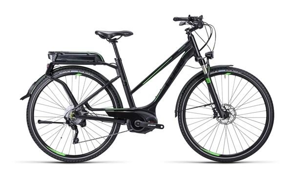 CUBE - Touring Hybrid SL black green / Trapeze