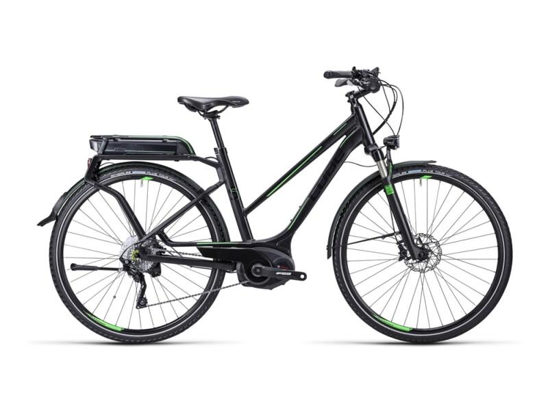 Cube Touring Hybrid SL black green / Trapeze