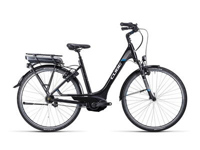 Cube Travel Hybrid black white blue / Easy Entry