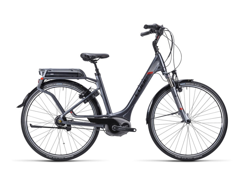 Cube Travel Hybrid Pro RT anth blk whit red/Easy Entry