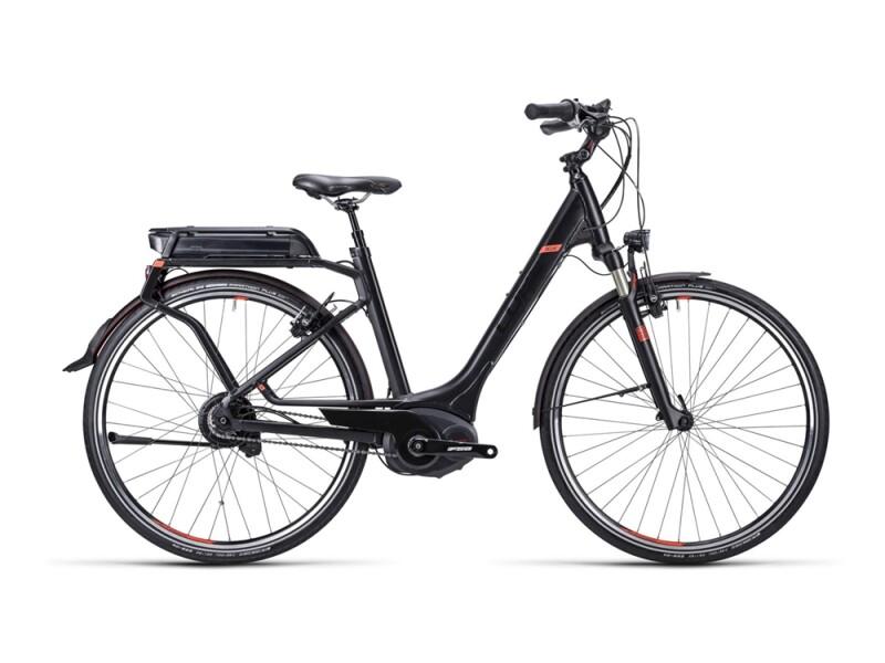 Cube Delhi Hybrid SL black flashred / Easy Entry