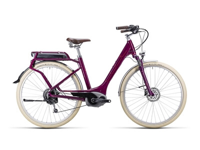 Cube Elly Ride Hybrid grape red´n´flashred / Easy Entry