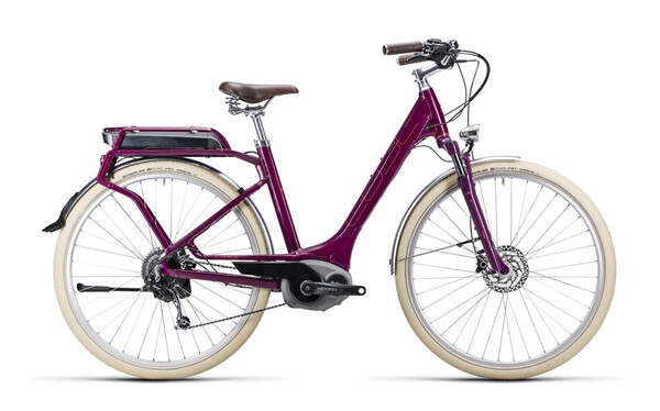 CUBE - Elly Ride Hybrid grape red´n´flashred / Easy Entry