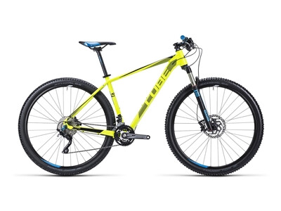 Cube LTD Pro spicy yellow´n´blue