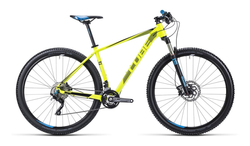 Cube LTD Pro spicy yellow´n´blue Mountainbike