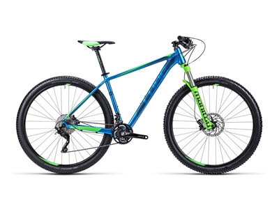 Cube LTD Race blue´n´green