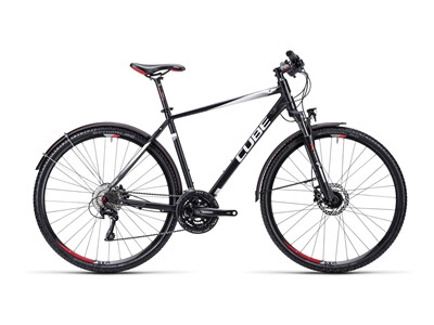 Cube Nature Allroad black white red