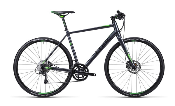 CUBE - SL Road Pro anthrazit black green