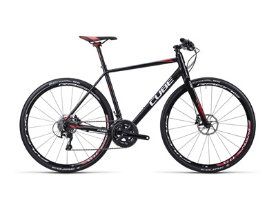 Cube SL Road Race black white red