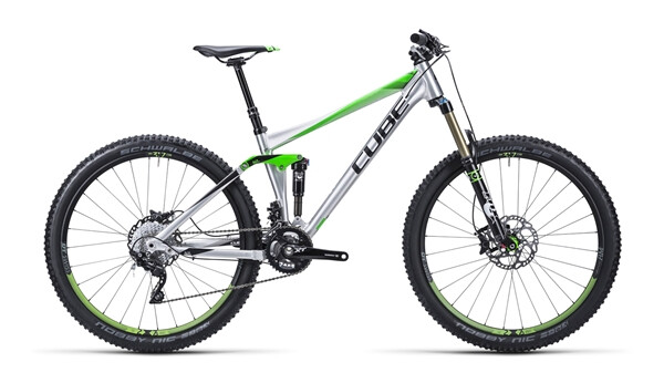 CUBE - Stereo 140 HPA Race metal´n´green
