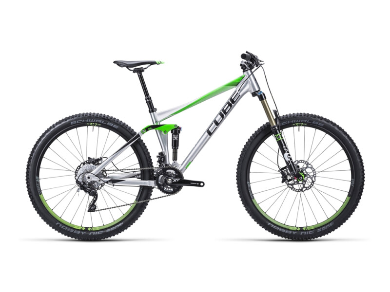 Cube Stereo 140 HPA Race metal´n´green