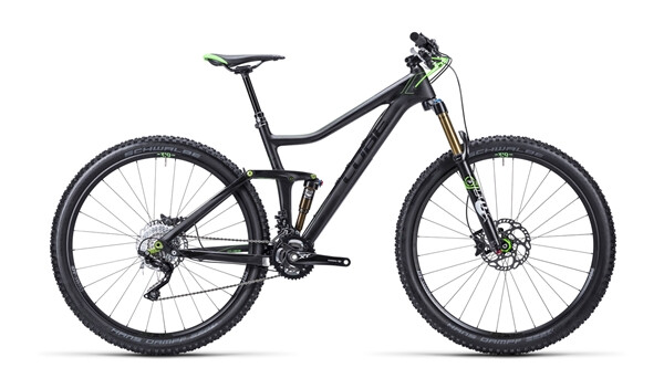 CUBE - Stereo 140 Super HPC Race carbon´n´green